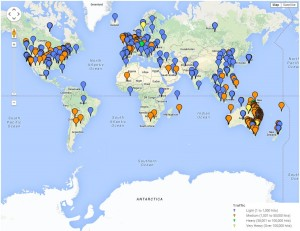 170 million maps were downloaded